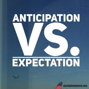 expectation anticipation art